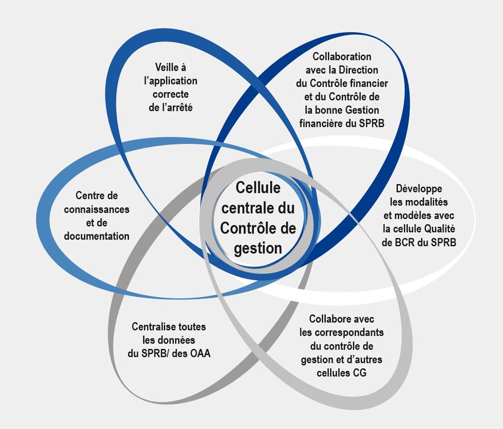 Infographie - Cellule centrale du contrôle de gestion - BFB