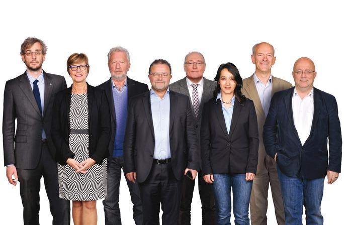 Leden van de directieraad van de GOB