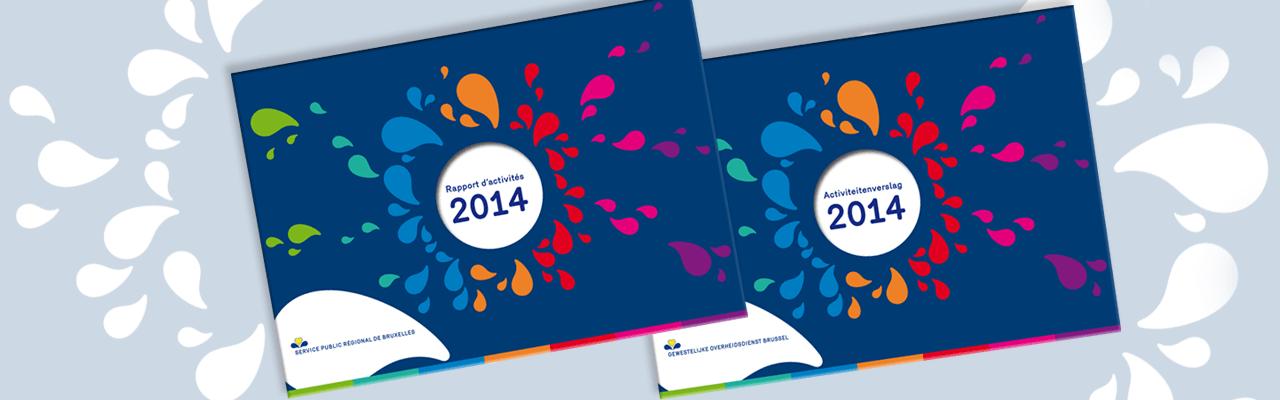Slider Rapport d'activités 2014 Service public régional de Bruxelles