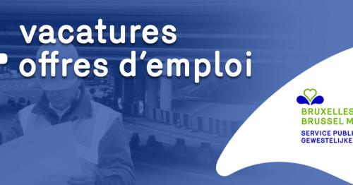 24 offres d'emploi au sein de Bruxelles Mobilité