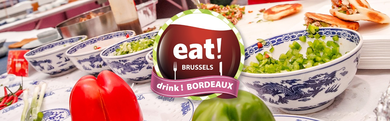 eat! BRUSSELS drink! BORDEAUX