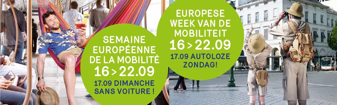 16-22/09 : Semaine de la Mobilité / Week van de Mobiliteit