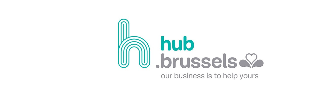 Logo hub.brussels