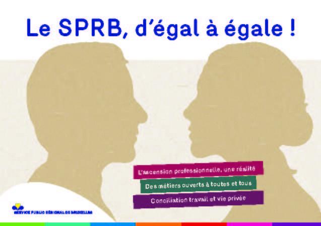 Pages de Brochure Le SPRB, d'égal à égale