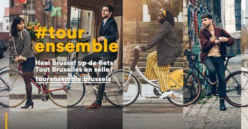 Tour ensemble : tout Bruxelles en selle !