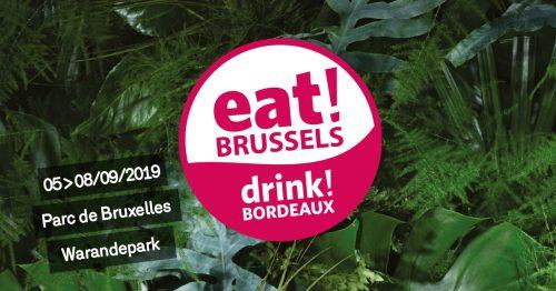 eat! BRUSSELS, drink! BORDEAUX