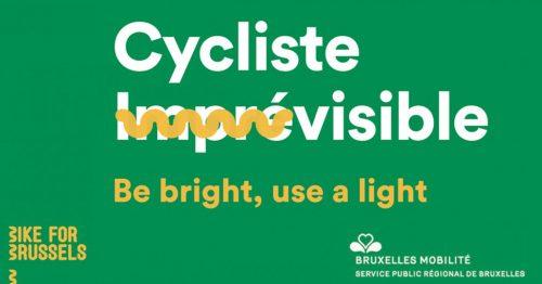 Petit-déjeuner et kits éclairage offerts aux cyclistes