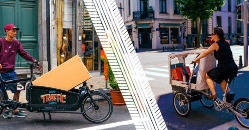 Cairgo Bike booste l'utilisation du vélo-cargo à Bruxelles