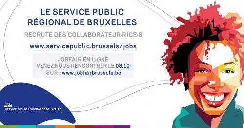 Rendez-vous au JOB FAIR Brussels (en ligne) ce jeudi 8 octobre !