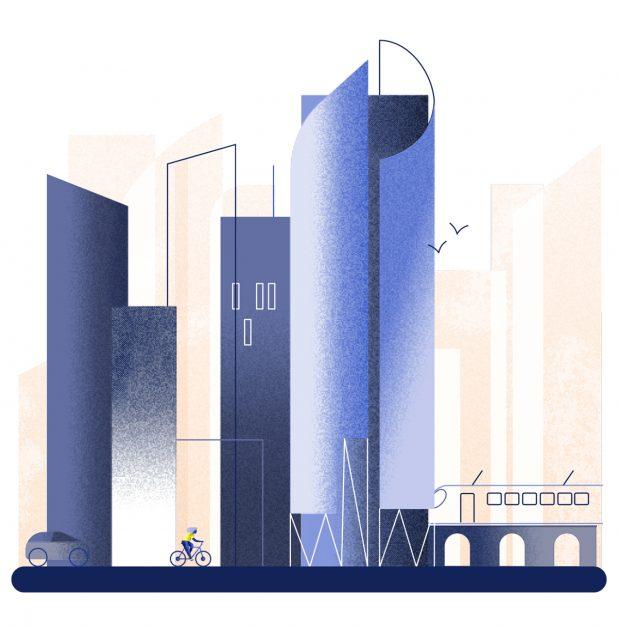 Tekeking van de Iris Tower