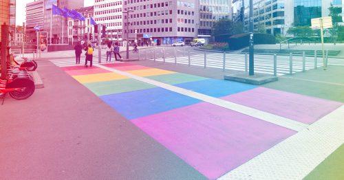 Rainbow city : le Service public régional de Bruxelles porte haut les couleurs de la diversité